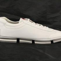 Authentic Luxury Prada Shoes Sneakers 4e2348 White New Nib Us 10 Eu 43 435 Photo
