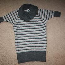 Authentic M Missoni Gorgeous Turtleneck Cowl Neck Sweater Tunic Mini Dress  Photo