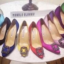 Authentic Manolo Blahnik Hangisi Sizes 35-41 Sale 850 Photo