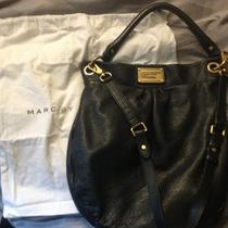 Authentic Marc by Marc Jacobs Classic Q Hillier Hobo Bag Purse Black Photo