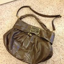Authentic Marc by Marc Jacobs Hillier Hobo Bag in Glossy Brown Photo
