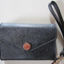 Authentic Michael Kors Black Wallet Wrislet Iphone Compartment 4/4s Photo