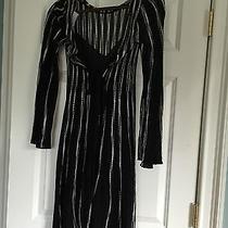 Authentic Missoni Crochet Black and White Dress Photo