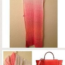 Authentic Missoni Crochet-Knit Ombre Scarf Photo