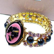 Authentic Miu Miu Gold  Bracelets 0570 Photo
