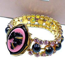 Authentic Miu Miu Gold  Bracelets 0570 Photo