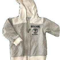 Authentic Moschino Baby Milano Hoodie 9-12 Months Perfect Condition Photo