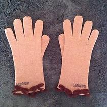 Authentic Moschino Gloves With Bows Photo