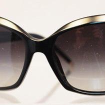 Authentic New Bvlgari Bv8133 Black Frame Designer Havana Sunglasses Photo
