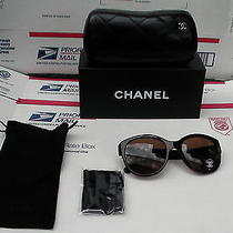 Authentic New Chanel Sunglasses Glasses 5197 714/3g Dark Havana 54-19-135 Photo