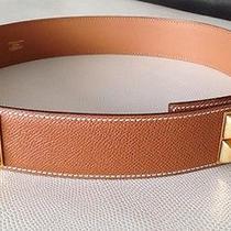 Authentic New Hermes Collier De Chien Belt Size 75 Photo