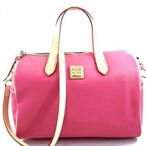 Authentic New Nwt Dooney & Bourke Olivia Pink Satchel Crossbody Messenger Bag Photo