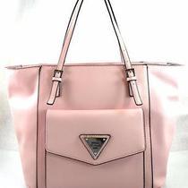 Authentic New Nwt Guess Royal Oak Pink Blush Tote Bag Purse Photo
