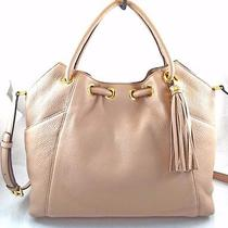 Authentic New Nwt Michael Kors 348 Leather Ring Pink Blush Tote Photo