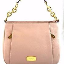 Authentic New Nwt Michael Kors Brooke Pink Blush Messenger Crossbody Bag Photo