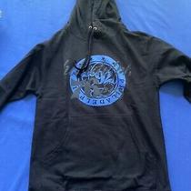 Authentic New Philadephia 76ers Black Hoodie Sz Small Express Sweatshirt Photo