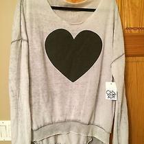 Authentic Nwt Chaser Heart Sweatshirt Photo