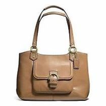 Authentic Nwt  Coach F24961 Campbell Women's Shoulder Bag Leather Purse 419 Photo