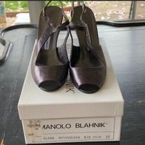 Authentic Nwt Manolo Blahnik Heels 37 Photo