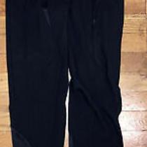 Authentic Nwt Versace Tessuto  Pants Italy 38 4 Ladies Leggings Medusa Zipper Photo