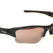 Authentic Oakley 03-921 Black Flak Polarized Sunglasses Photo
