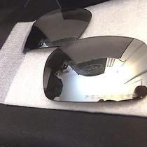 Authentic Oakley Crankshaft Replacement Lenses Chrome Iridium Polarized Photo