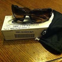 Authentic Oakley Oil Drum Brown Smoke With Dark Bronze Lens  New Photo