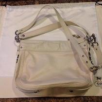 Authentic Off-White Coach Handbag Photo
