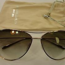 Authentic Oliver Peoples Kempner Light Gold/gradient Titanium Frame Sunglasses Photo