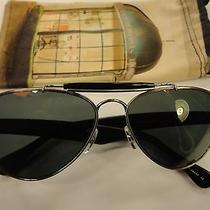 Authentic Oliver Peoples Teardrop Matte Black Polarized Sunglasses 57-14-145 Photo