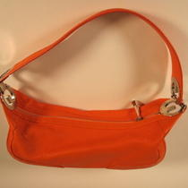 Authentic Orange Escada Eluna Luna Hobo Bag  Handbag Couture Photo