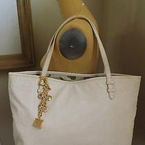 Authentic Original Juicy Couture Blush Leather Shopper Handbag Nwt Photo