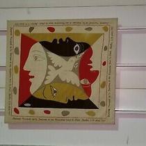 Authentic Picasso 1951 Scarf - Festival Mondial De La Jeunesse Et Des Etudiants  Photo