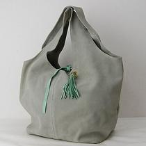 Authentic  Pop Corn Hobo  Made in Italy Grays  6808 Photo