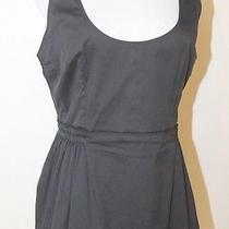Authentic Prada Black Cotton Blend Sleeveless Top Sz 44 Photo