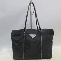 Authentic Prada Black Pocone Luxury Simple Shoulder Bag Photo