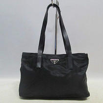 Authentic Prada Black Pocone Simple Luxury Shoulder Bag Photo