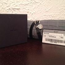 Authentic Prada Crocodile Black Bracelet Photo