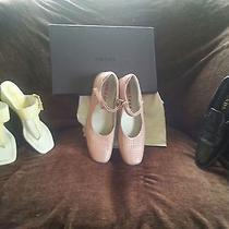 Authentic Prada Leather Shoes  Photo