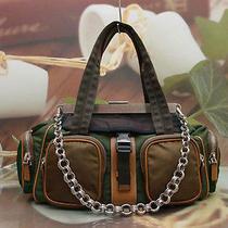 Authentic Prada Multi Color stylish&luxury Chain Tote/shoulder Bag Photo