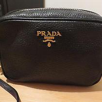Authentic Prada Saffiano Camera Crossbody Bag Clutch Handbag Photo