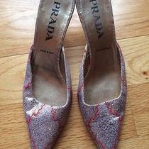 Authentic Prada Shoes Size 37.5. Gorgeous Photo