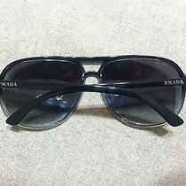 Authentic Prada Sunglasses  100% Uva & Uvb Gray Photo