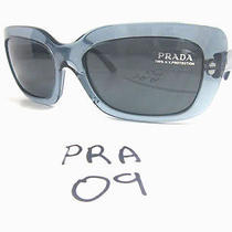 Authentic Prada Sunglasses Frames Spr23m Pd6-9k1 Grey (Pra-09) Photo