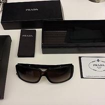 Authentic Prada Sunglasses With Authenticity Certificate Card Photo
