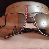 Authentic Prada  Sunglasses With Original Case Photo