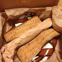 Authentic Prada Wedges/sandals Shoes Photo