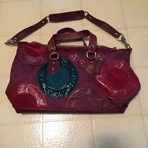 Authentic Purple Coach Purse Photo