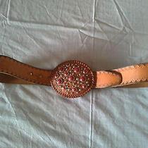 Authentic Rare Dsquared Leather Belt Photo