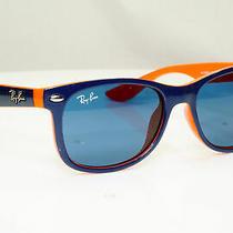 Authentic Ray-Ban Child Boys Girls Sunglasses Blue Childs Rj 9052 172/80 30921 Photo